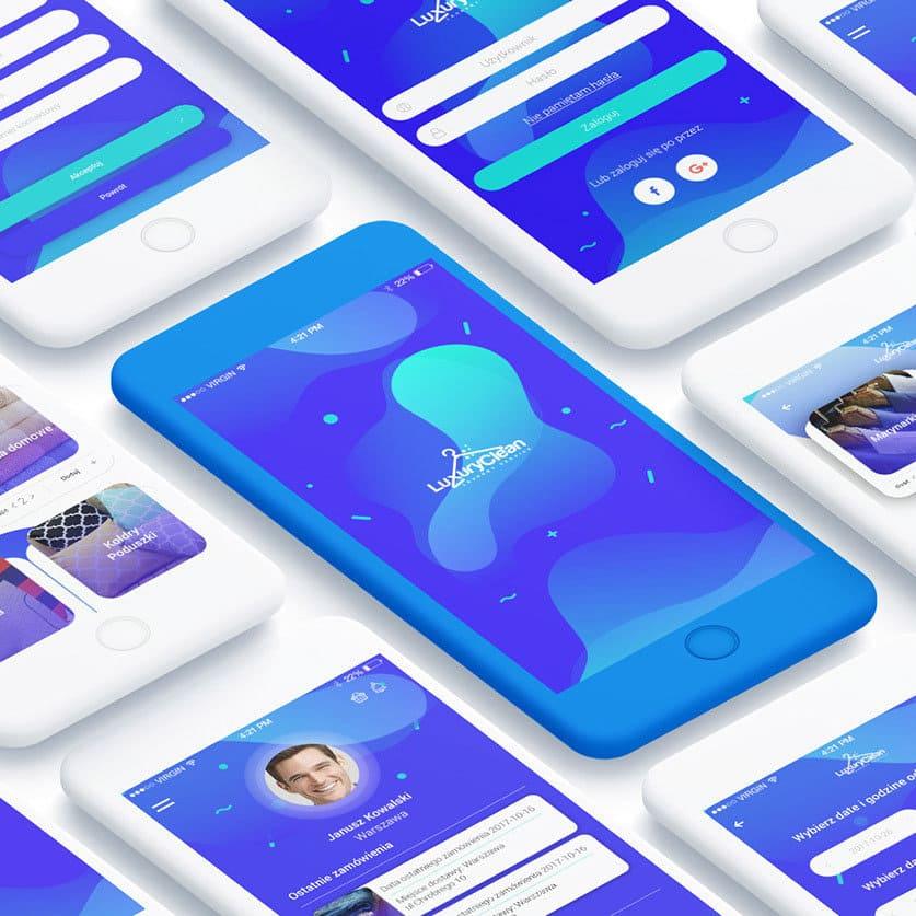 tendencias diseño web 2019 formas fluidas mariusz mitkow