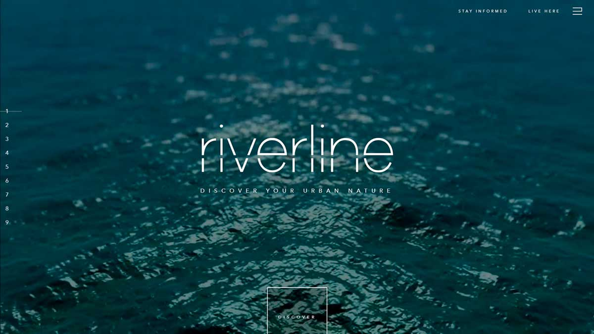 tendencias diseño web 2019 pantalla completa riverline chicago