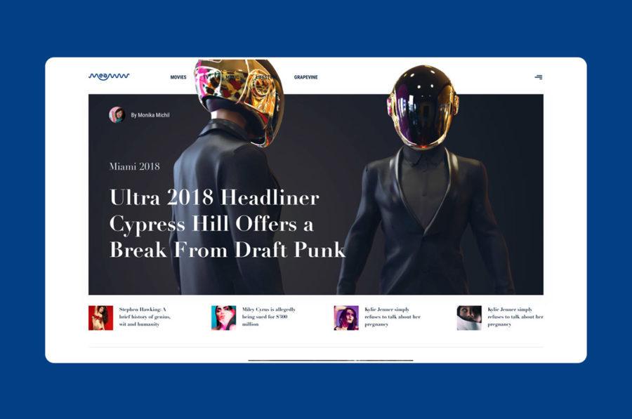 tendencias diseño web 2019 grid Abhishek Biswas