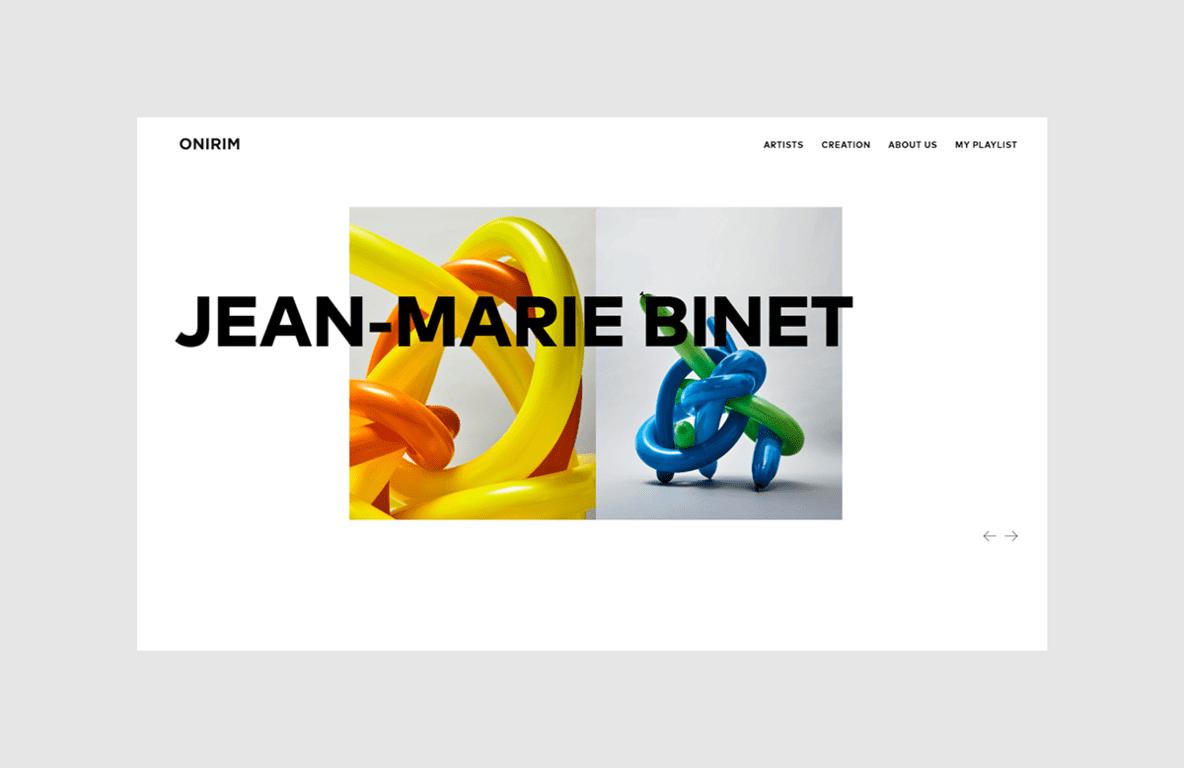 tendencias diseño web 2019 tipografia onirim