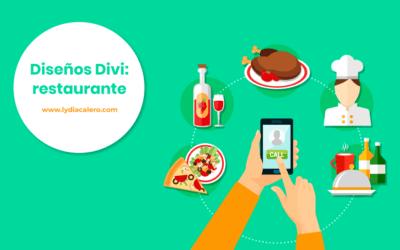 Ejemplo de página web para un restaurante (con WordPress y Divi)