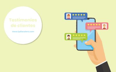 Testimonios de clientes: por qué debes incluirlos en tu web