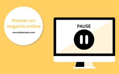 Cómo pausar tu negocio online sin perjudicar tu posicionamiento SEO