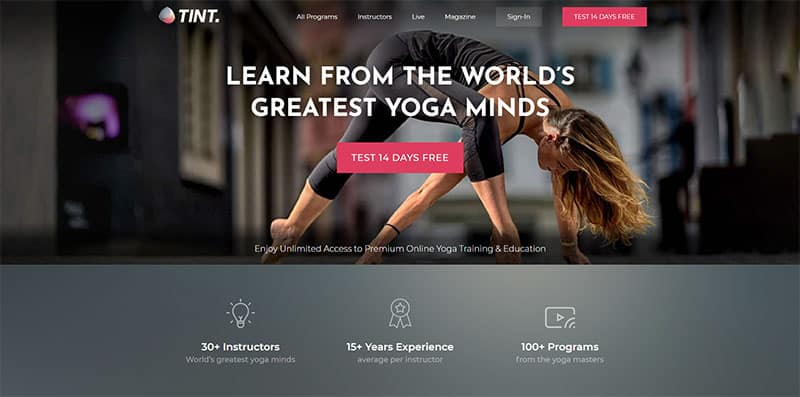pagina-web-centro-yoga-wordpress-divi-tint