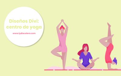 7 ejemplos de página web para un centro de yoga (con WordPress y Divi)