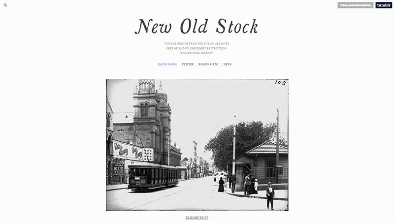 bancos de imagenes gratis new old stock
