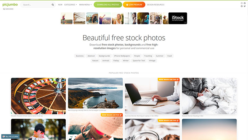 bancos de imagenes gratis picjumbo