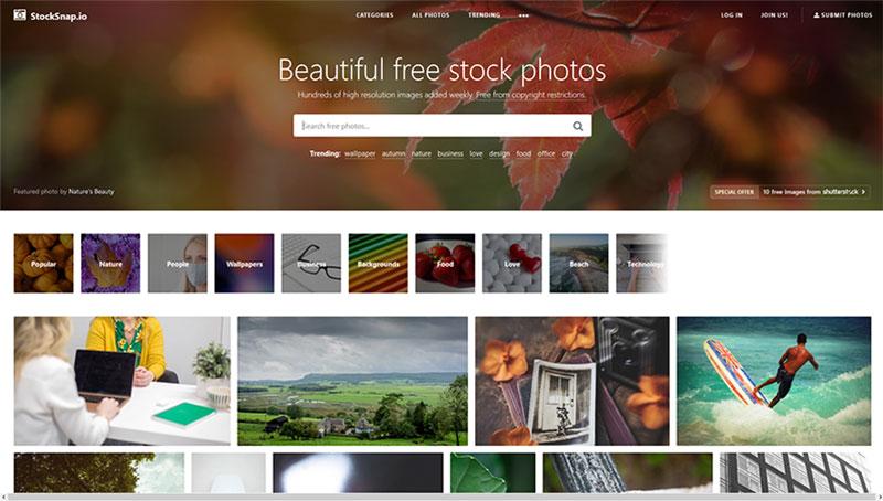 bancos de imagenes gratis stocksnap