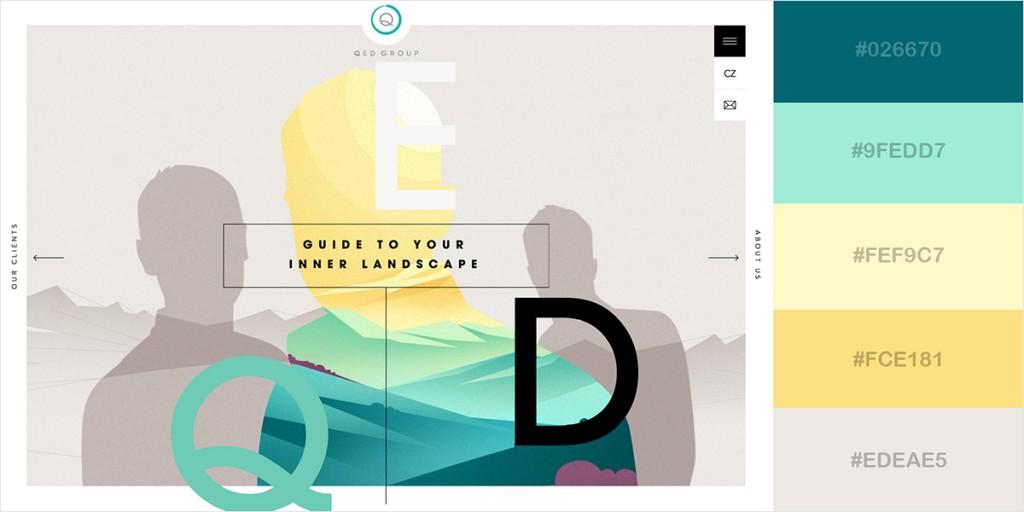 paleta de colores web